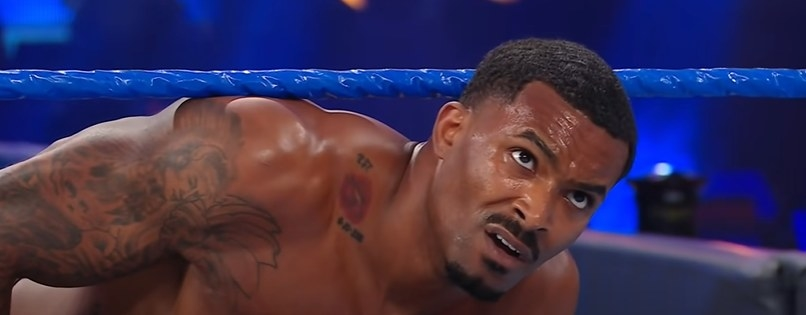 Montez Ford looking confused
