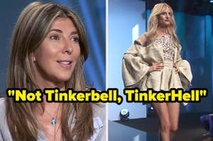 Nina Garcia delivers harsh feedback about a contestant's look