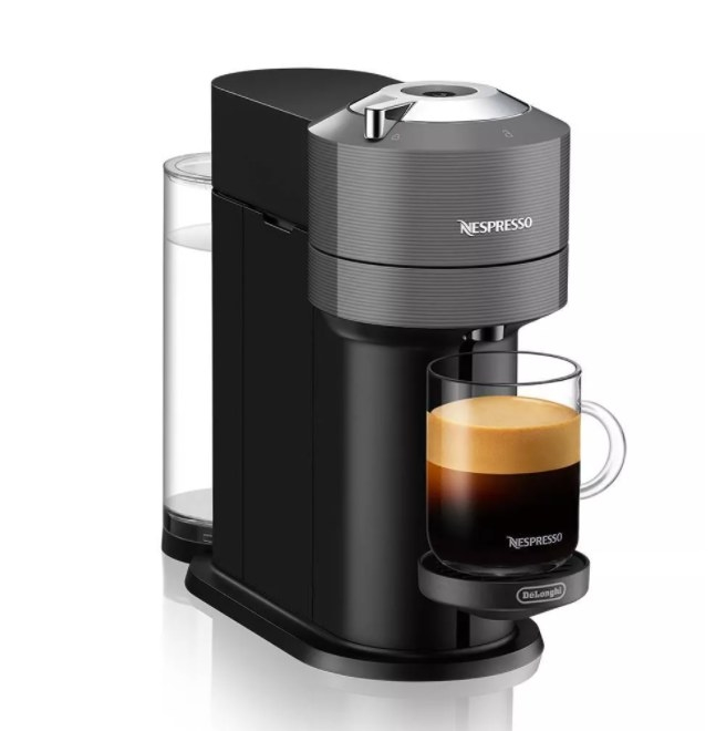 A smart, espresso and coffee maker that includes a set of 12 Veruto coffee capsules