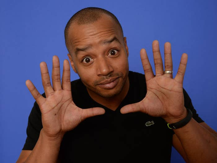 Actor  Donald Faison poses for a portrait during the 2014 Sundance Film Festival