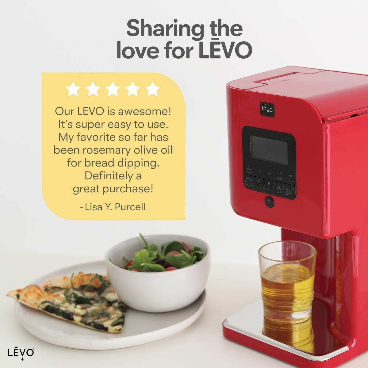Red LEVO infuser