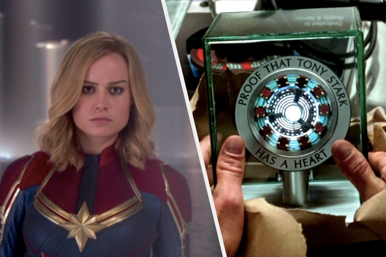 Carol and an arc reactor