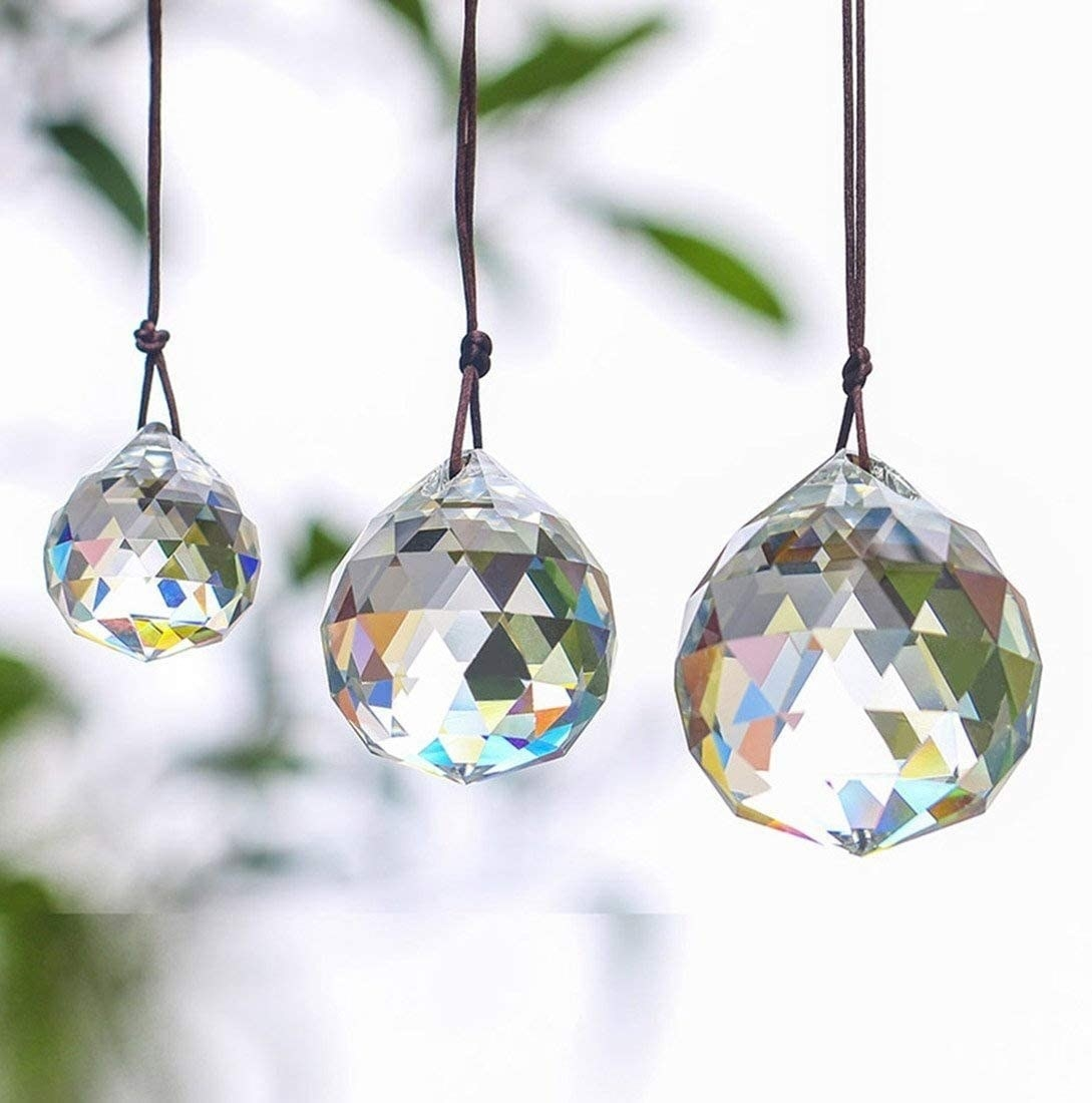 the three pendants hanging