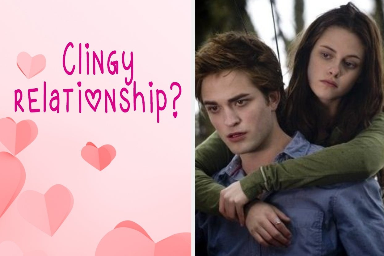 """Clingy Relationship"" with Edward and Bella from ""Twilight"""