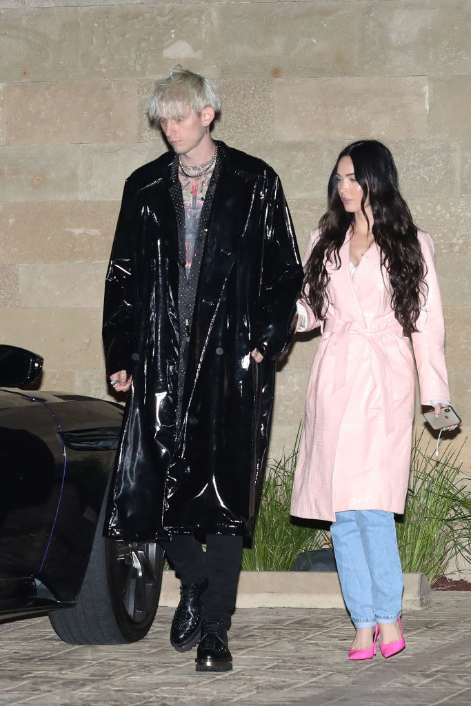Megan Fox and Machine Gun Kelly at Soho House