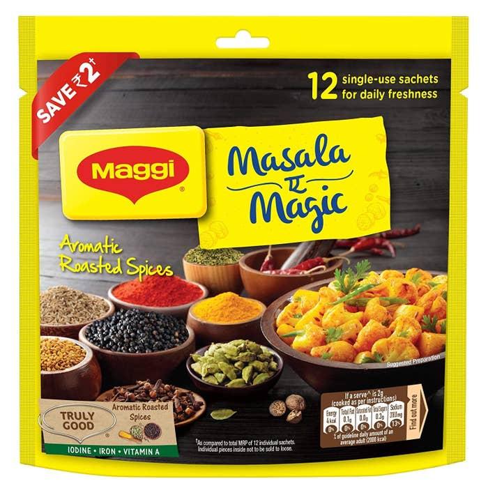 A pack of Maggi Masala E Magic