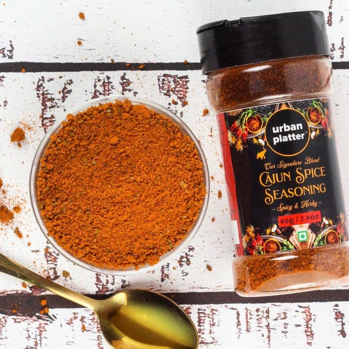 Cajun spice blend on a table