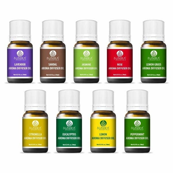 Bottles of the diffuser