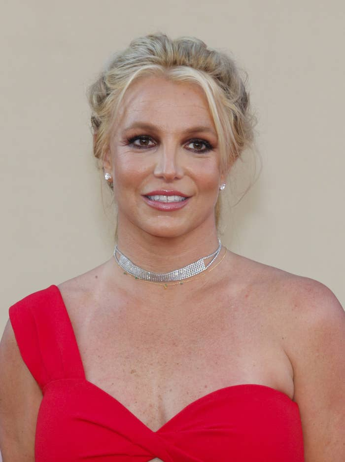 Britney Spears at the Once Upon A Time in Hollywood premiere in Los Angeles in 2019