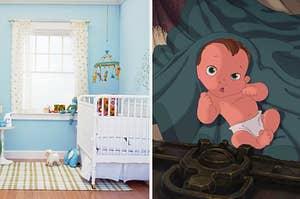 nursery and baby tarzan