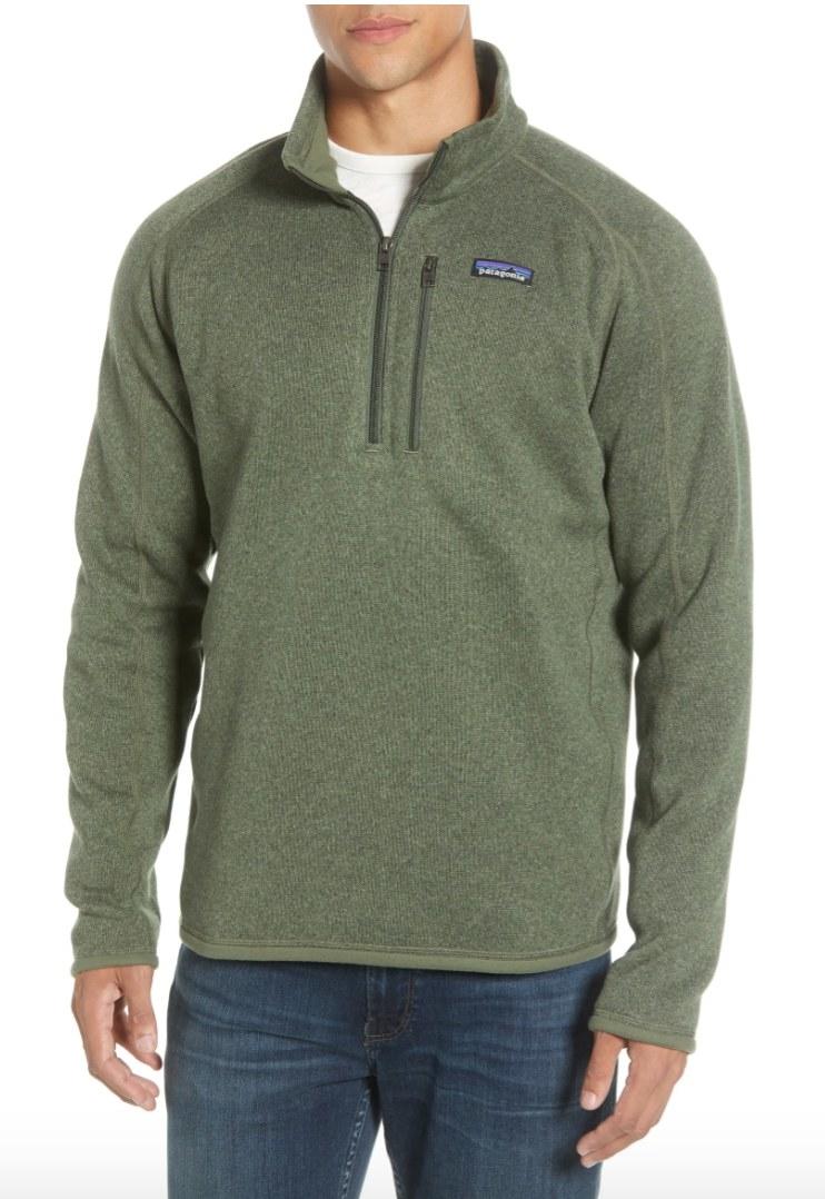 The Patagonia Quarter-Zip Sweater