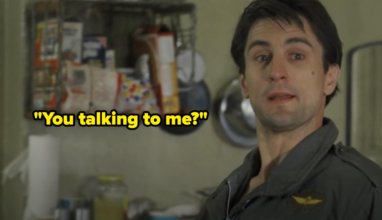 """Travis asking: """"You talking to me?"""""""