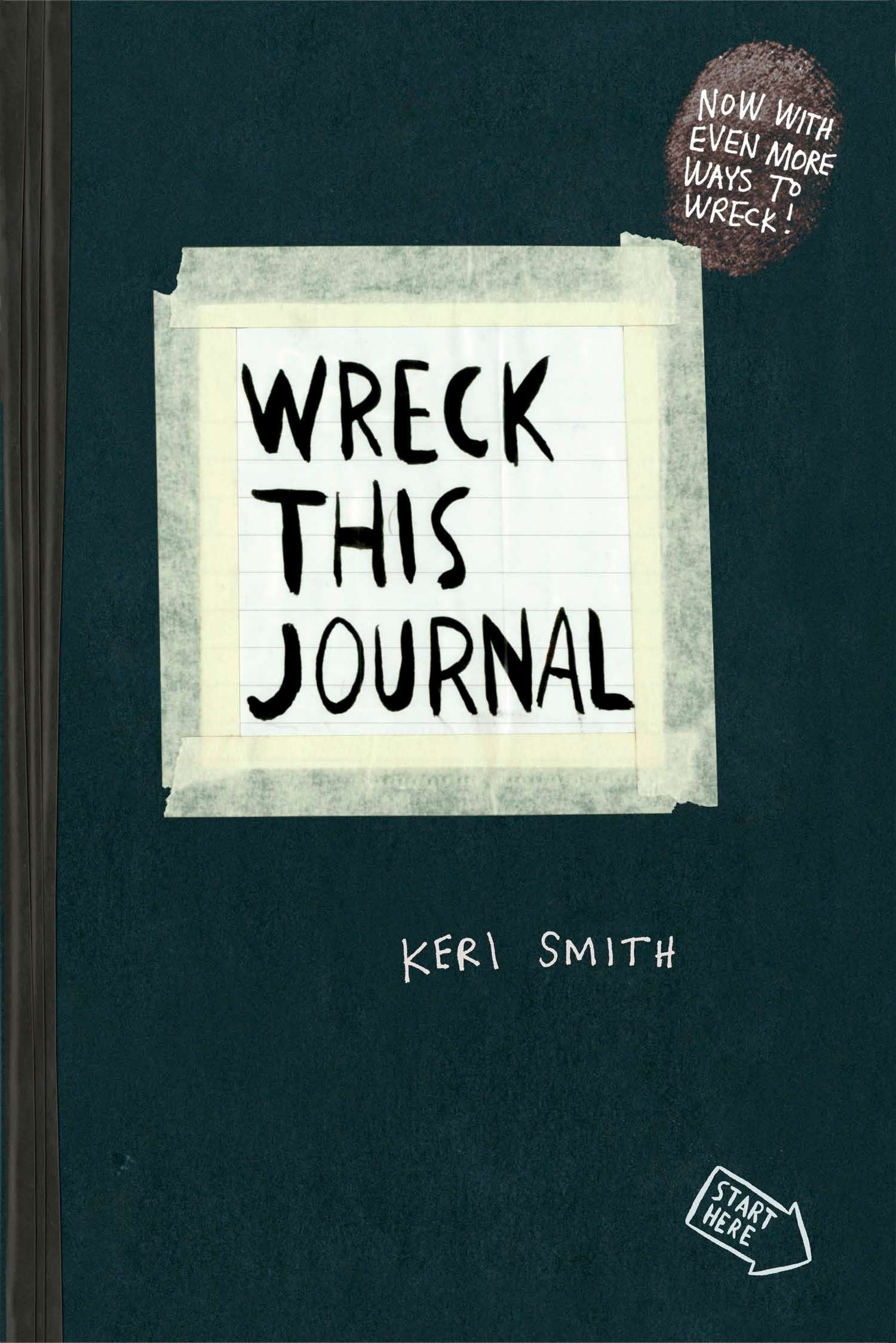 The cover of Wreck This Journal