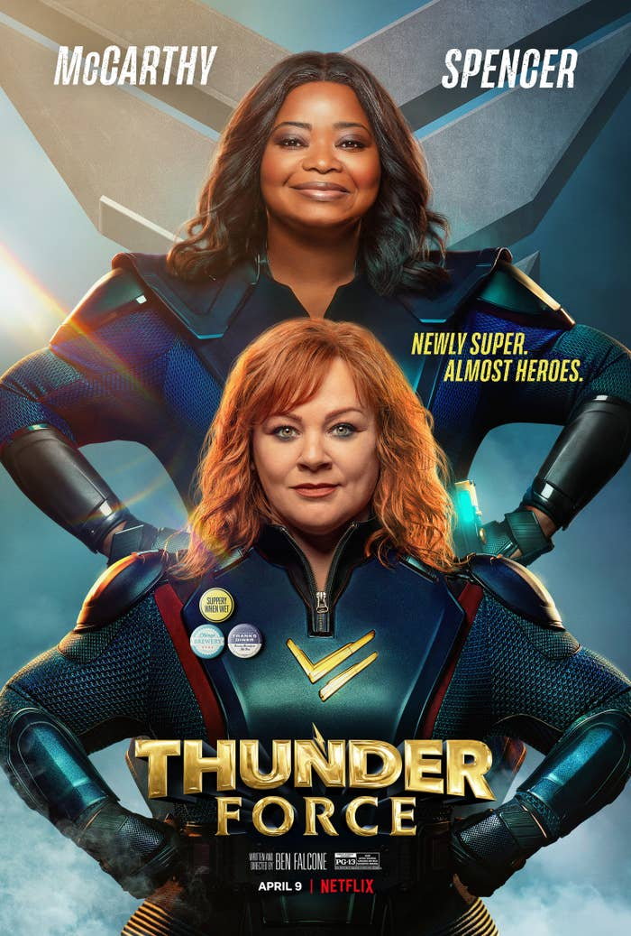 Promotional poster for Thunder Force