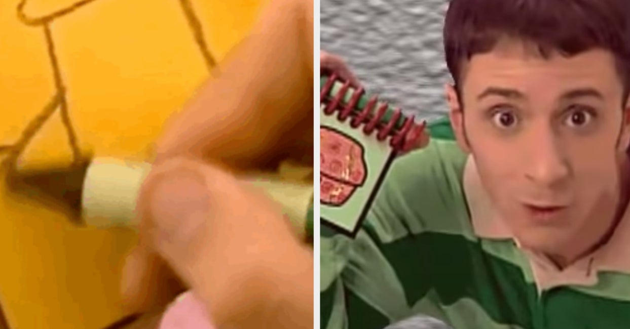 """We All Watched It Growing Up, But Can You Guess The """"Blue's Clues"""" Clue With Just A GIF"""