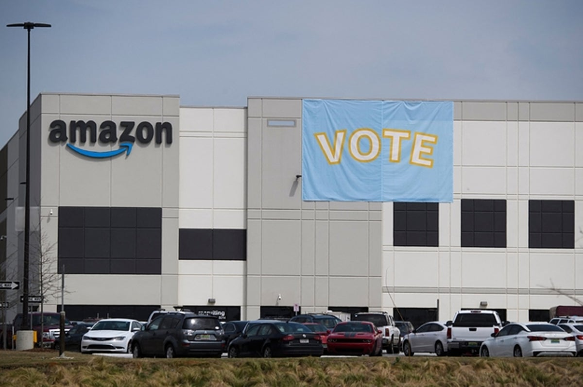 Amazon Has Defeated The Union Drive In Alabama