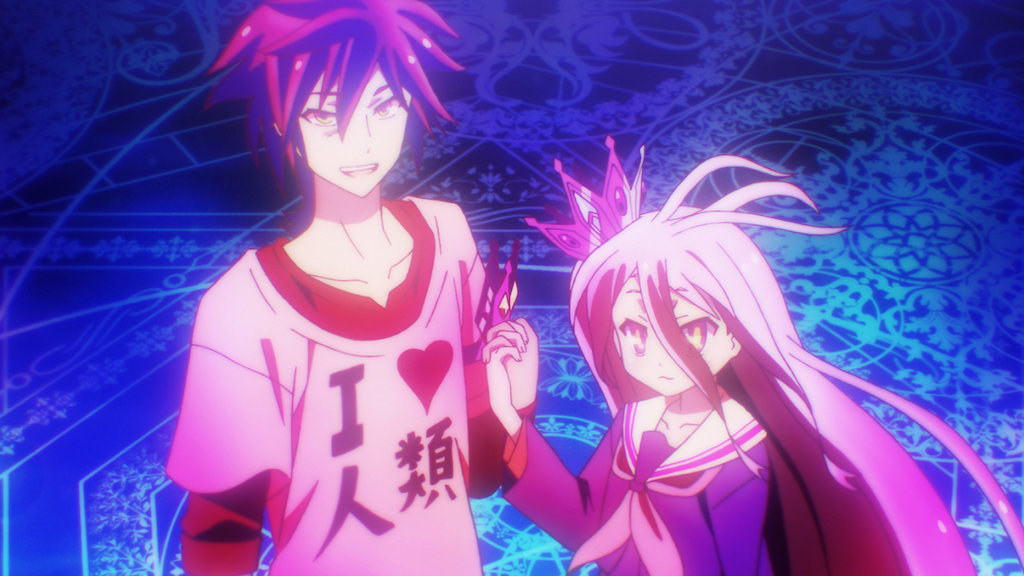 two characters from no game no life