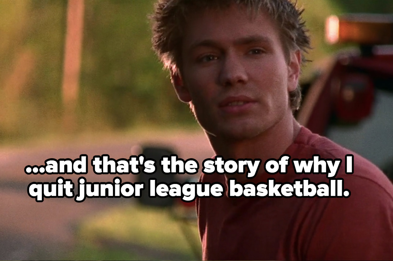 Lucas tells Peyton the story of why he quit junior league basketball