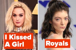 Katy Perry and Lorde