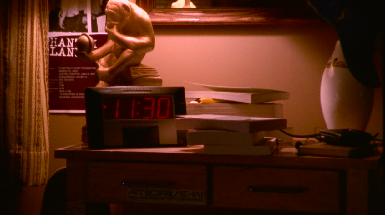 11:30 on Lucas' clock