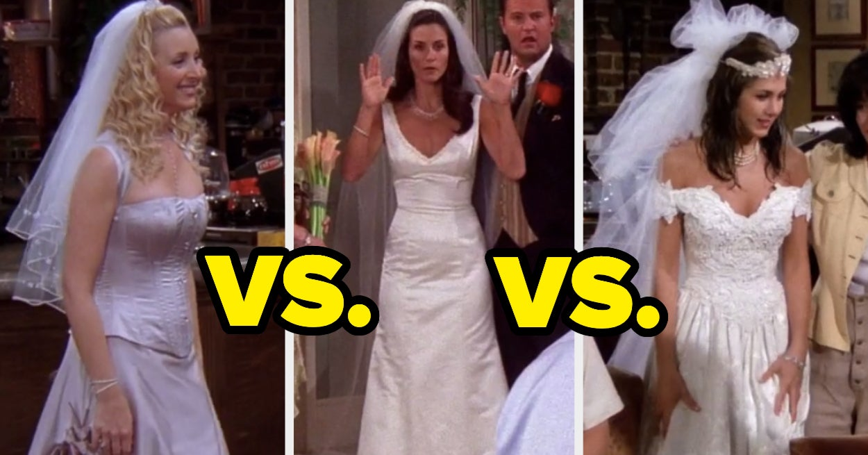 If You Want To Have Fun Choosing Between TV Wedding Dresses, This Is The Poll For You