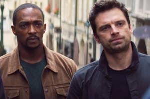 Sam and Bucky