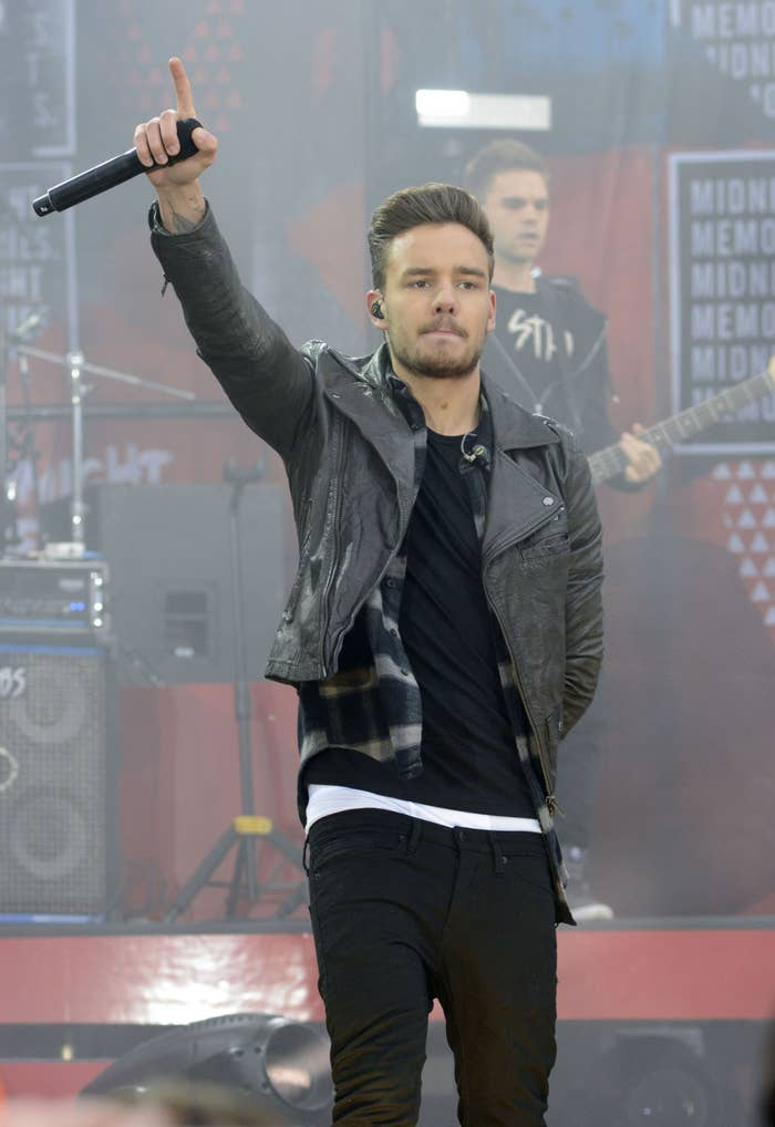 Payne at a One Direction Good Morning America concert in 2013