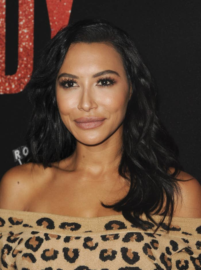 Naya Rivera at the premiere of Judy in Beverly Hills in 2019