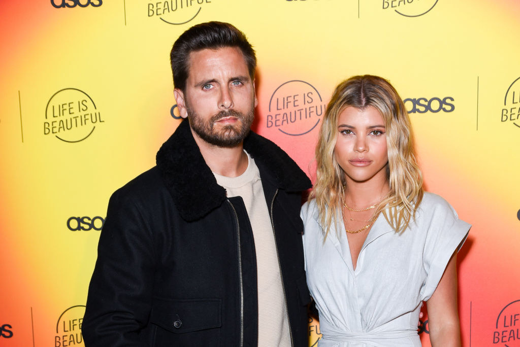 Scott Disick and Sofia Richie attend ASOS celebrates partnership with Life Is Beautiful
