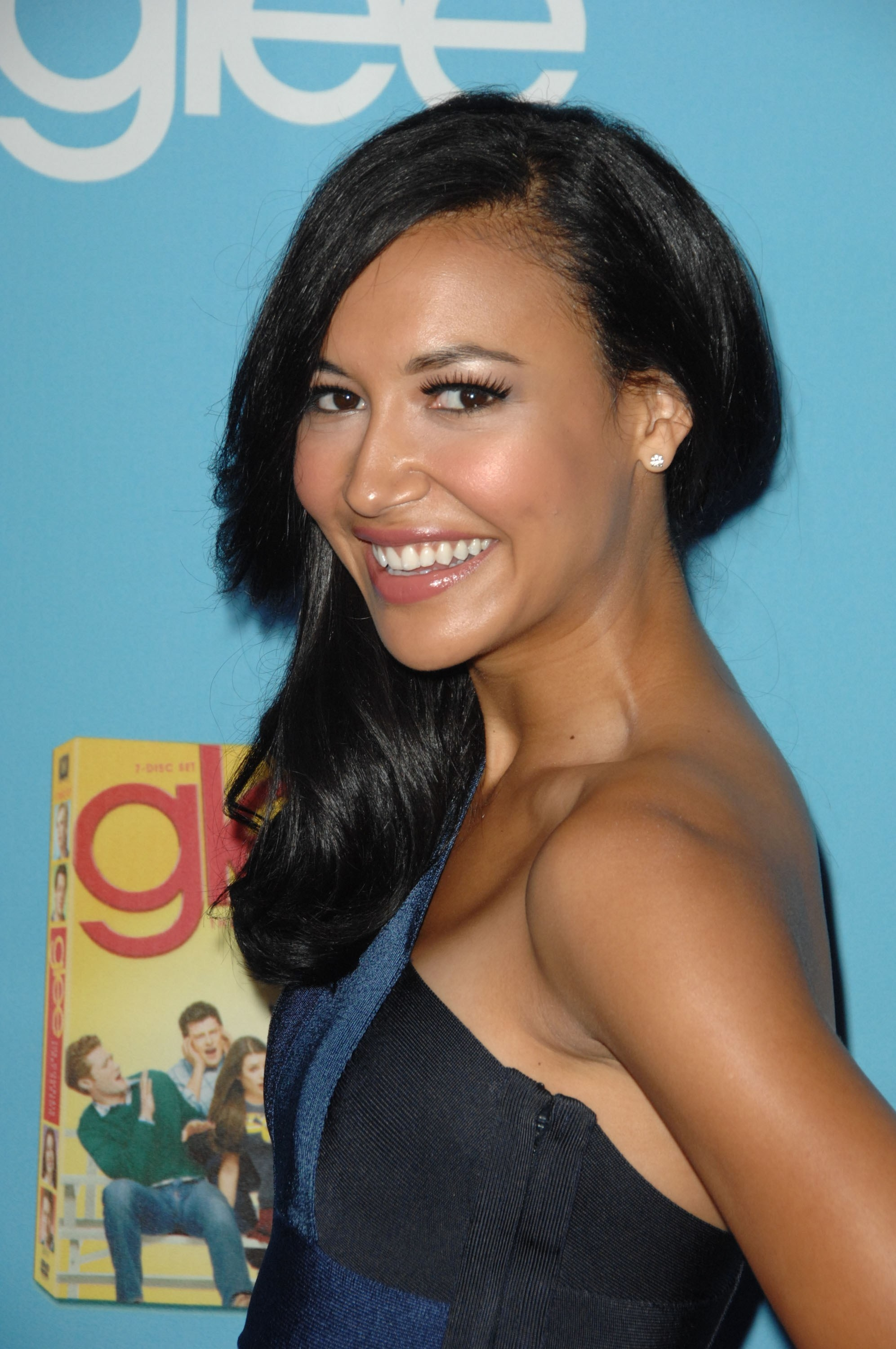 Naya Rivera at the premiere of Glee's second season in 2010