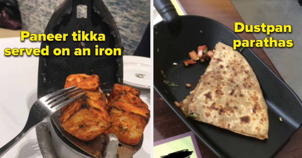 24 Times Indian Food Was Served In Everything But Plates And Bowls
