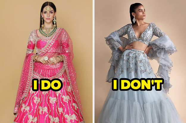 """Say """"I Do"""" Or """"I Don't"""" To These Indian Wedding Outfits And We'll Guess Your Relationship Status thumbnail"""