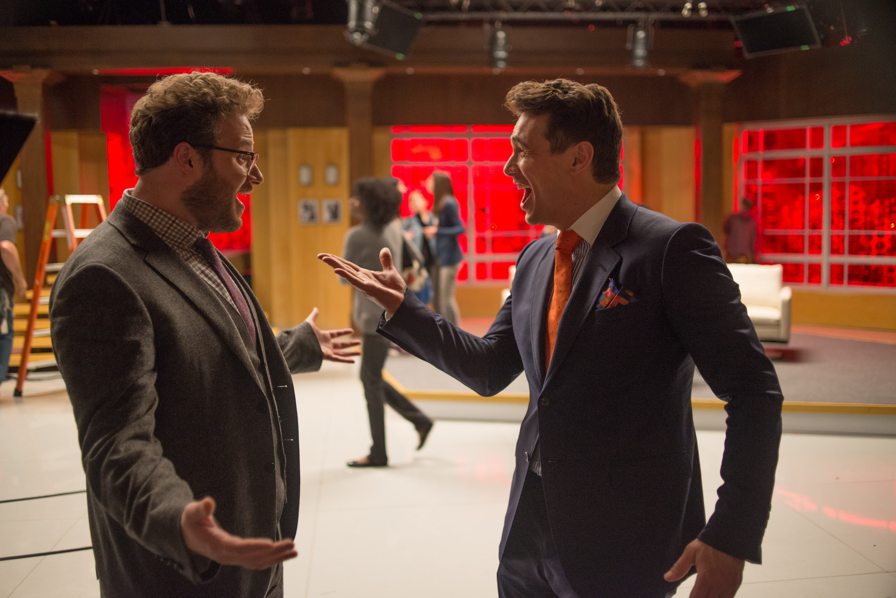 Rogen and Franco in The Interview