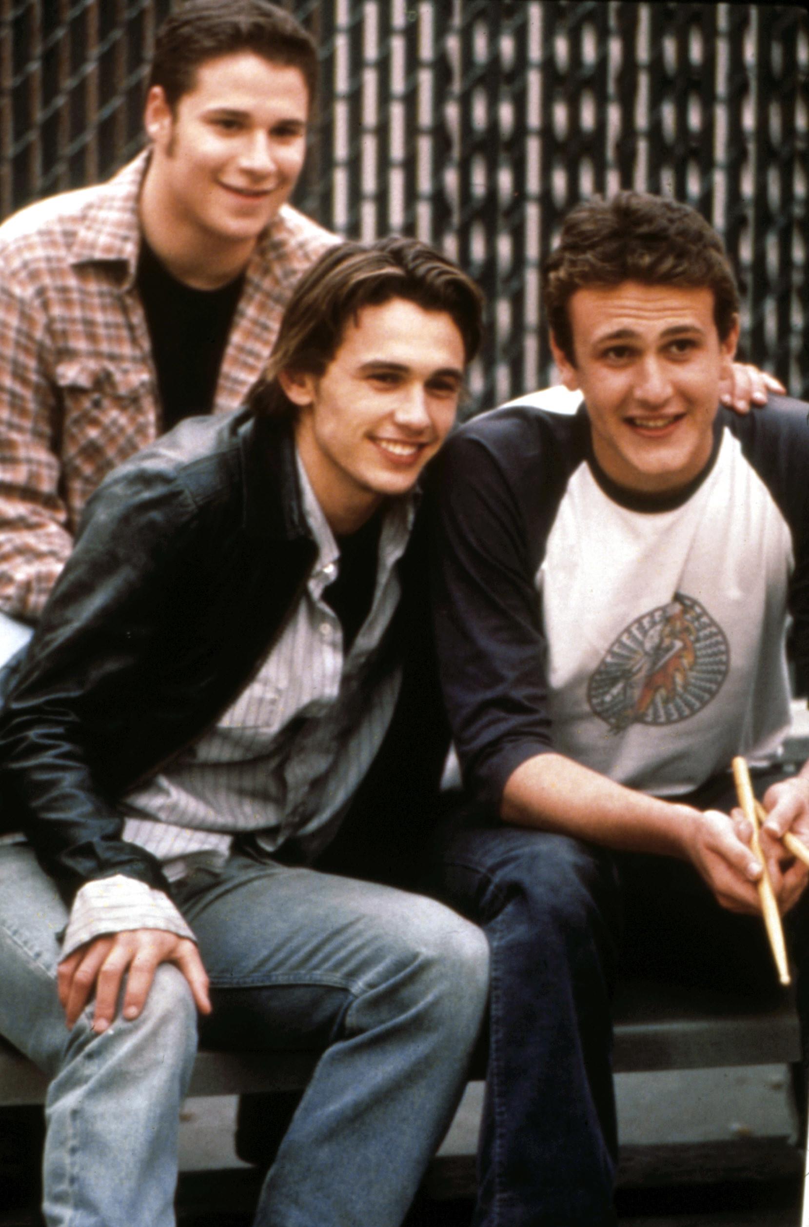 Rogen, Franco, and Jason Segel in Freaks and Geeks