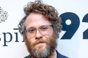 Seth Rogen at the 92nd Street Y in 2020