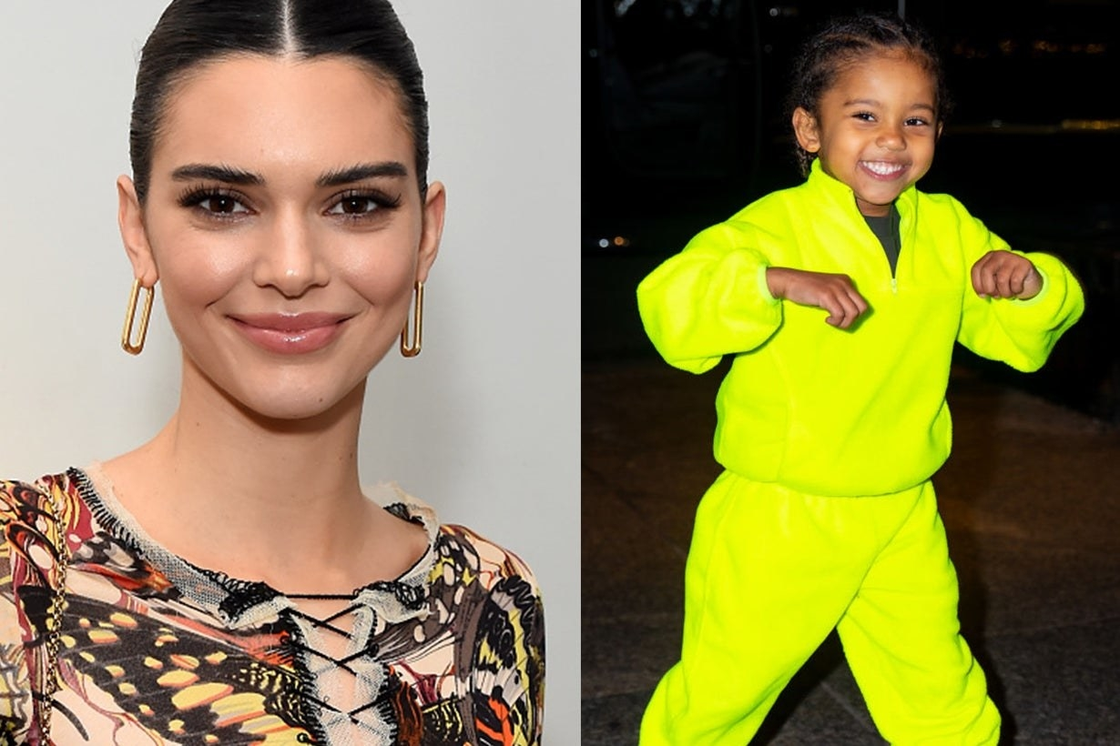 Kendall Jenner and Saint West