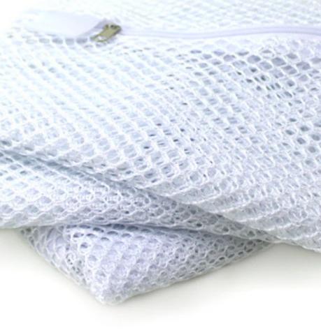Closeup of mesh bag