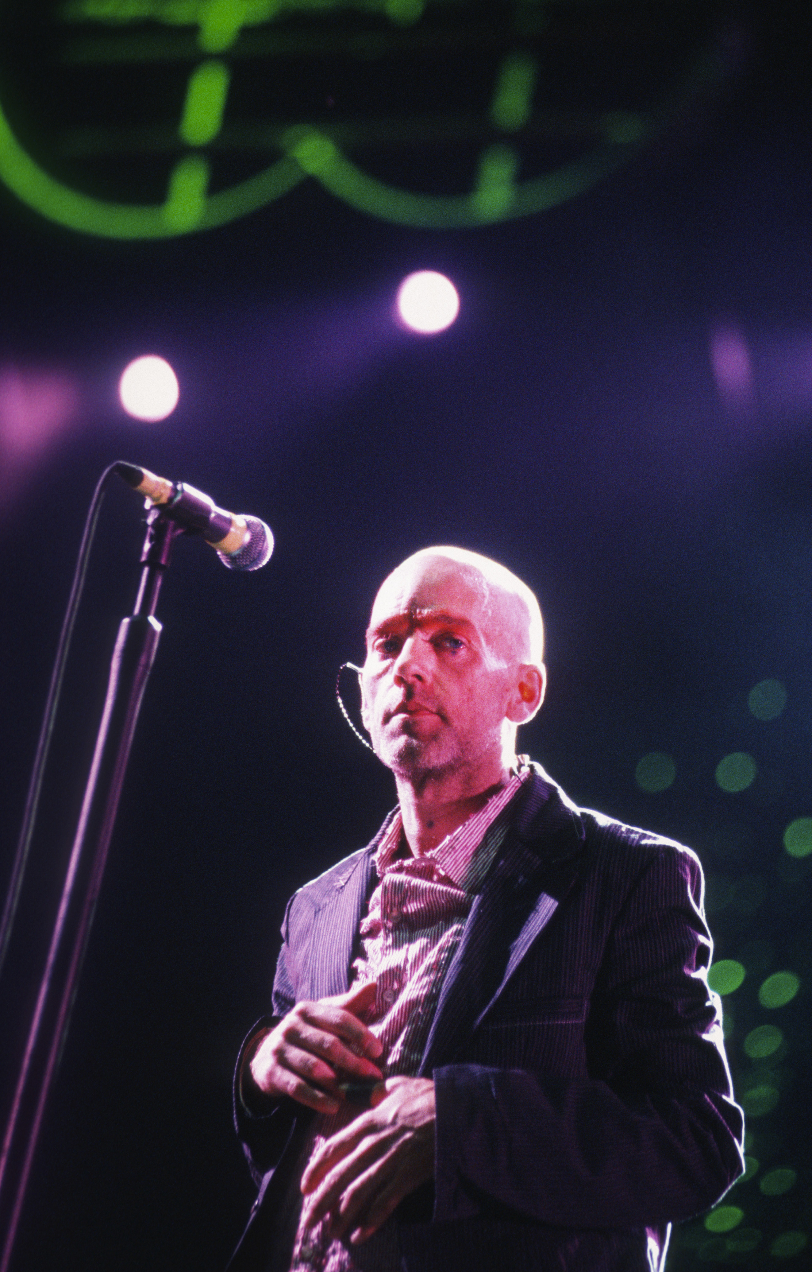 michael stipe in concert