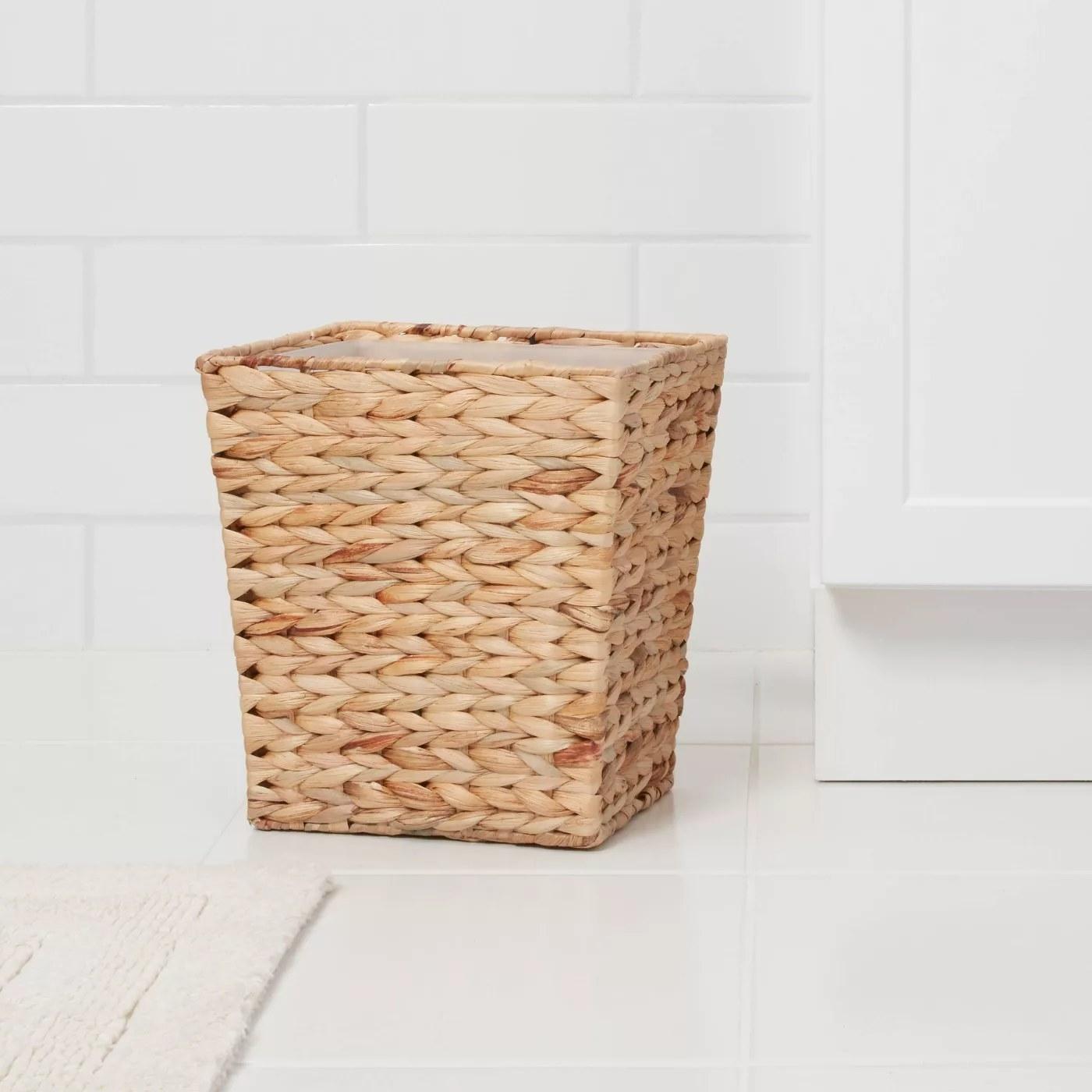 A waste basket