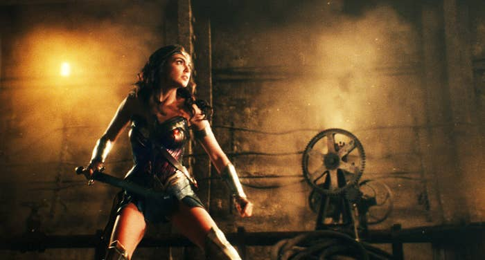 Gadot as Wonder Woman in Justice League