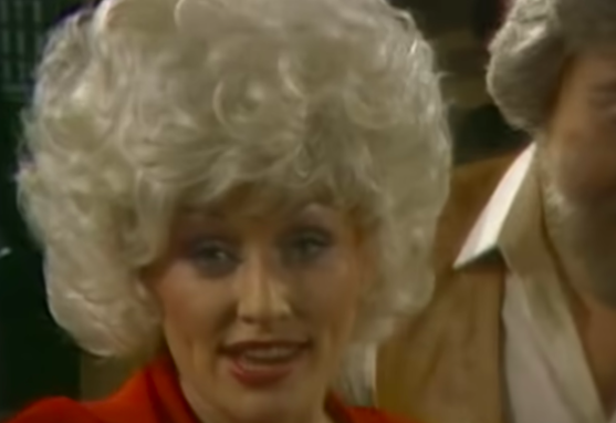 dolly in the music video