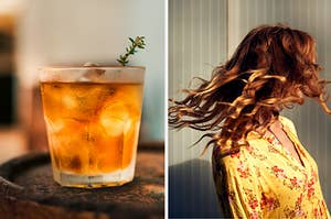 martini and red hair