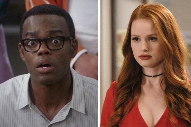 """Chidi from """"The Good Place"""" and Cheryl from """"Riverdale"""""""