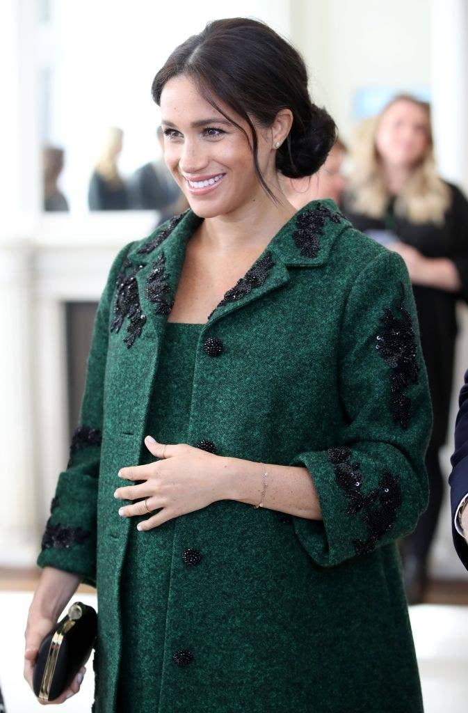 Meghan Markle attends a Commonwealth Day Youth Event at Canada House with Prince Harry