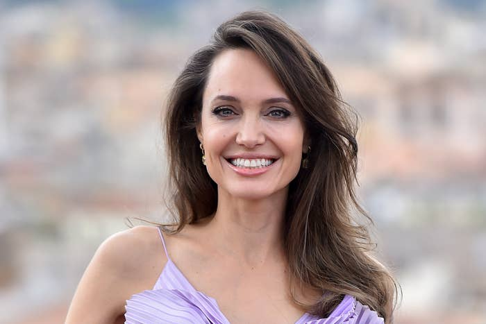 Angelina Jolie at Maleficent: Mistress of Evil event