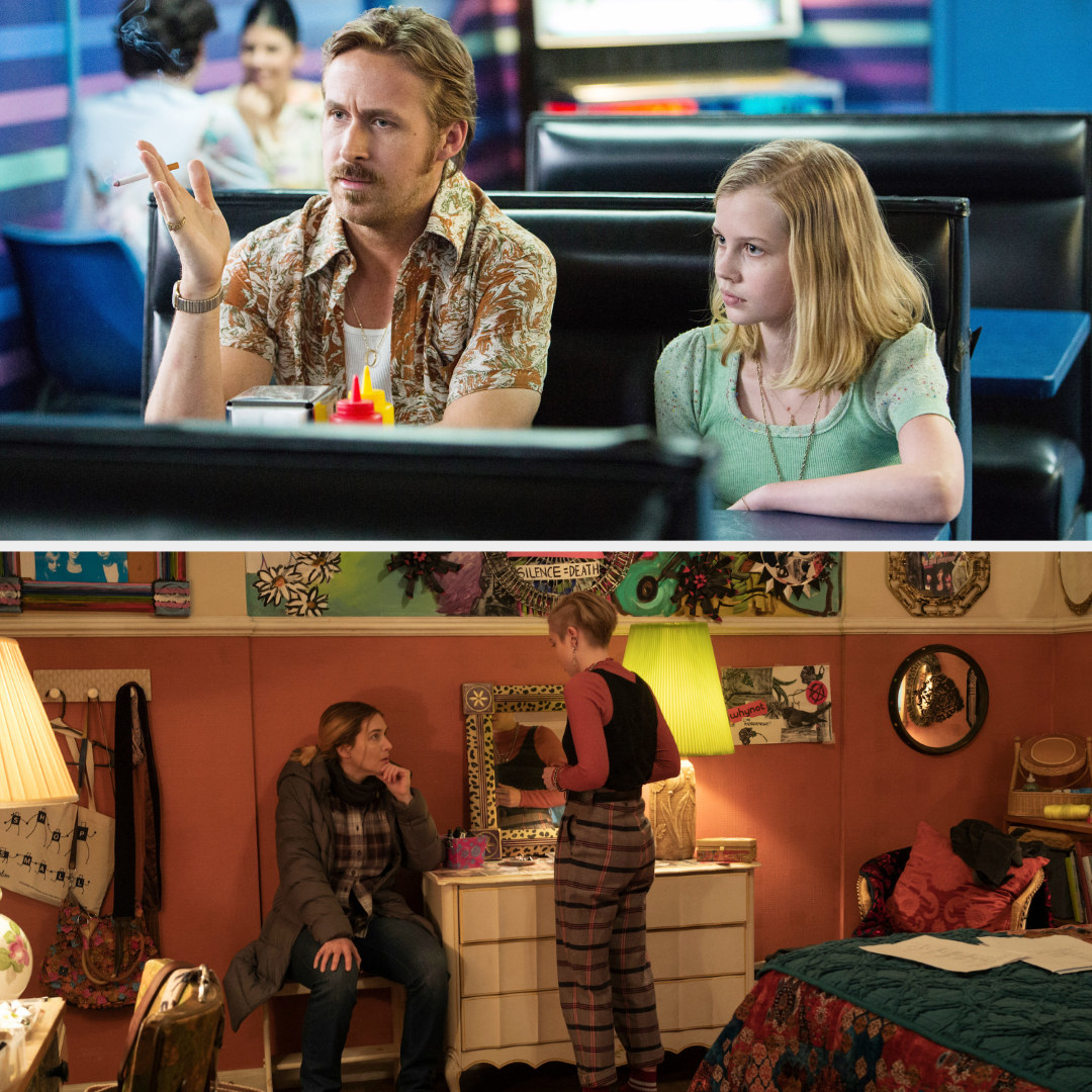 Angourie in scenes with Ryan Gosling and Kate Winslet