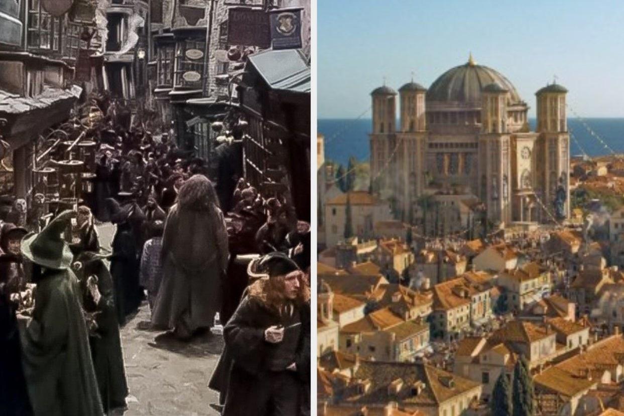 Diagon Alley and Westeros
