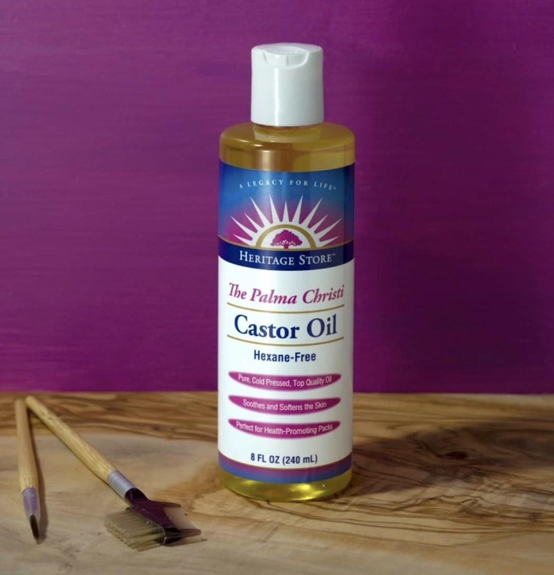 The castor oil