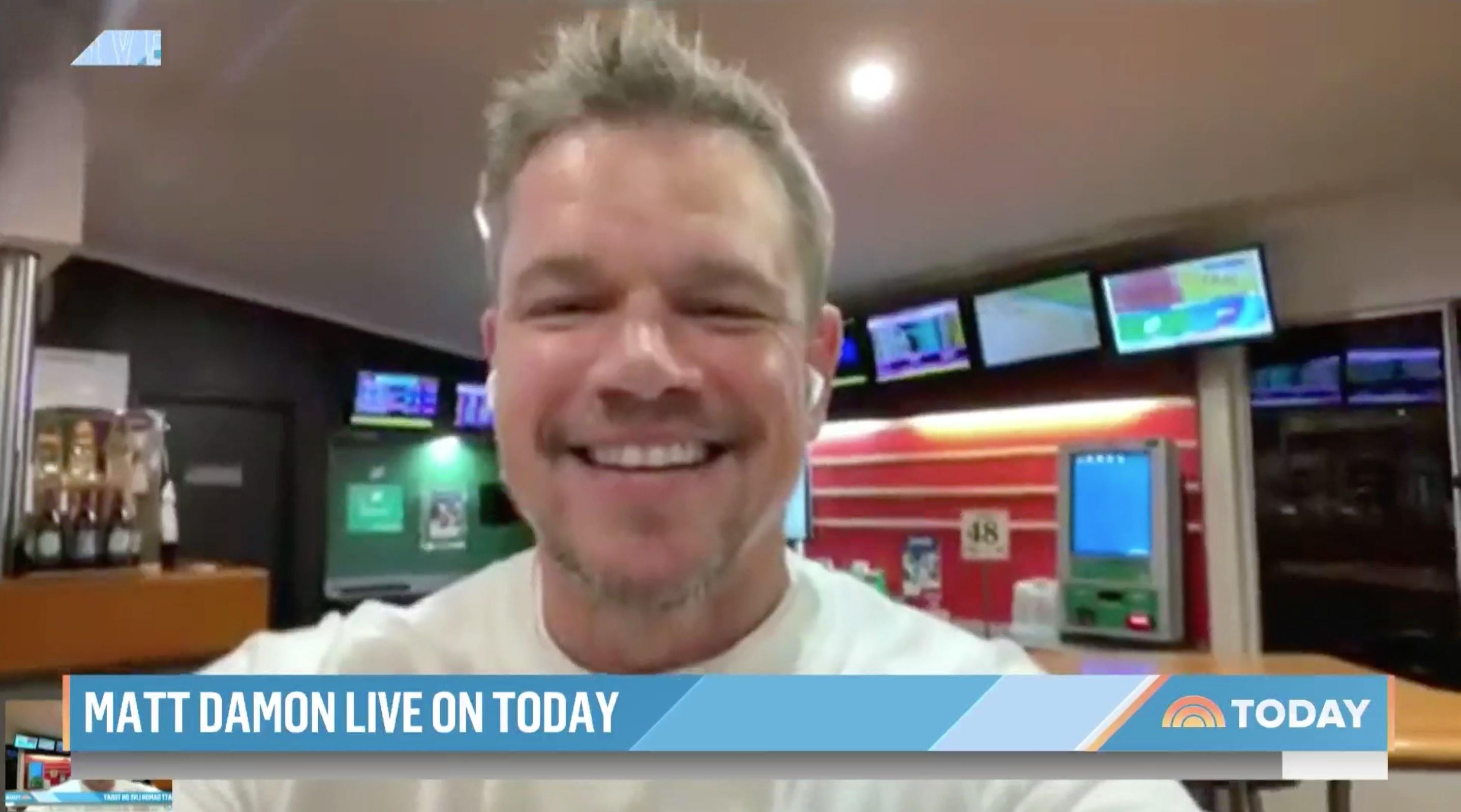 """Matt Damon on """"Today"""""""