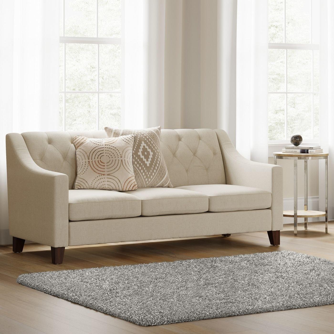 Shag rug in a home